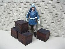"Star Wars Award Winning Custom Cast ""Wood"" Crates Diorama Parts Free Shipping"