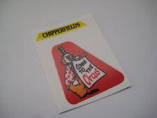 Corgi 1144 Chipperfields - Crane Truck  Stickers - B2G1F