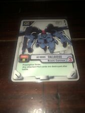 Gundam MS WAR TCG MS-014 Tallgeese Beam Cannon  2000 BANDAI TCG