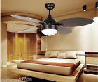 3060 European 42 Inches 2 Lights Diameter 106CM Rope Control Ceiling Fans Light