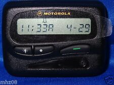 MOTOROLA EXPRESS EXTRA VHF Pager..  REFURBISHED PAGER WITH BRANDNEW OEM HOLSTER