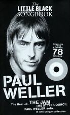 Little Black Songbook Paul Weller Learn to Play Piano Guitar Lyrics Music Book