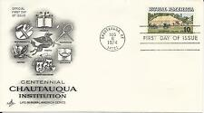 1974 Rural America First Day Covers - Set of 2