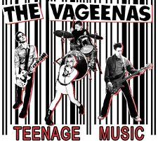 VAGEENAS, THE Teenage music CD (2006 Plastic Bomb) neu!