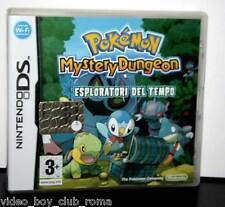 POKEMON MYSTERY DUNGEON ESPLORATORI DEL TEMPO GIOCO USATO DS E 3DS ED ITA FR1