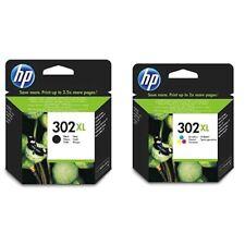 2 Cartucce HP 302XL Getto Inchiostro Nero e Tricromia Cartuccia Originale InkJet