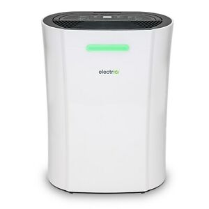12L Dehumidifier for upto 3 bed houses with Humidistat & Air Purifier - electriQ