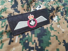 SNAKE PATCH - ROYAL CANADIAN AIR FORCE RCAF - BREVET PILOTE scratch ailes Canada