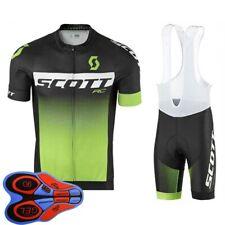 2021 para hombres equipo ciclismo Camiseta Conjunto Verano Top Pantalones Cortos Traje de Bicicleta Bici trajes