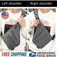 2019 New Waterproof Personal Shoulder Pocket Bag Business Anti-theft Package US