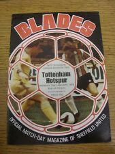 02/01/1978 Sheffield United v Tottenham Hotspur [Division SAISON 2] (froissées, te