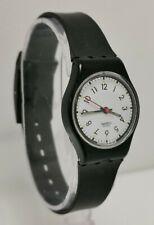 Vintage 1987 Swatch LB116 Classic Two Black & White Ladies Quartz Wrist Watch
