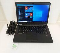 """Dell Latitude E7450 14"""" FHD Laptop Intel i7-5600U 2.6Ghz 8GB 256GB SSD WIN 10"""