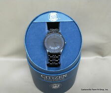 Citizen Eco Drive Stiletto Black Blade GN-4-S G870-S065518 HST Blk SS Band