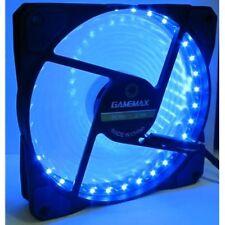 Gamemax 12mm Blue 12CM 32 x LED 3 + 4 Pin Molex Computer Desktop Gaming Case Fan