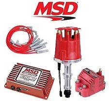 MSD 9272 Ignition Kit Programmable 6AL-2/Distributor/Wires/Coil Buick 400/455