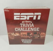 ESPN All Sports Trivia Challenge 2005 Brand New Factory Sealed Game (S2)