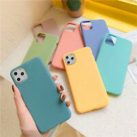 For iPhone 12 Pro Max Mini 11 XS XR 7 8 SE2 ShockProof Matte Soft TPU Case Cover