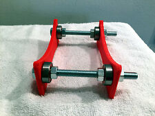 Adjustable 3D Filament Roll Holder - Red - TWO Units
