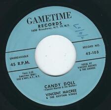 Teen Rock & Roll Vincent Macree GAMETIME 103 Candy doll / Teen-age talk ♫ 1957