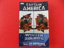 Captain America: Winter Soldier Ultimate Collection Tpb - Ed Brubaker-4th Print
