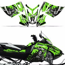 Rev XR Decal Graphic Kit Ski Doo Skidoo Sled Snowmobile Wrap Summit 13+ REAP GRN