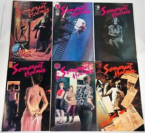 SOMERSET HOLMES #1-6 COMPLETE SET PACIFIC ECLIPSE 1983-1984 JONES ANDERSON