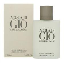 GIORGIO ARMANI ACQUA DI GIO AFTERSHAVE SPLASH 100ML - MEN'S FOR HIM. NEW