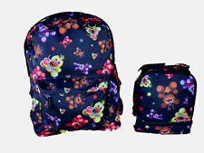 """Five Nights at Freddy's All Over  Print 16"""" Backpack & LunchBag SET"""