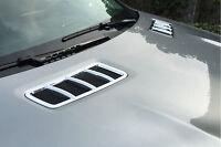 Chrome Hood Vent Trim For Mercedes Benz GLE300 GLE350 ML GLE GLS W166 C292