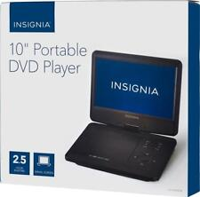 "Insignia- 10"" Portable DVD Player with Swivel Screen - Black - NS-P10DVD18"