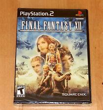 Final Fantasy 12 - playstation 2 NTSC US -  Neuf / New
