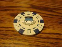 U.S. AIR FORCE ACADEMY Seal Poker Chip,Golf Ball Marker,Card Guard White/Blue