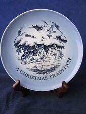 Marshall Field's 1983 Outdoor Bird Rabbit Deer B&G BING GRONDAHL Christmas Plate