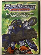 TRANSFORMERS: Armada - Battle for the Mini-Cons (DVD, 2004)