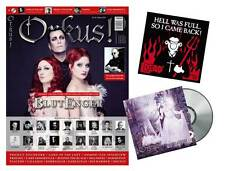Orkus! Februar 2016 mit BLUTENGEL+PROJECT PITCHFORK+OOMPH!+Sticker + CD - Neu!!