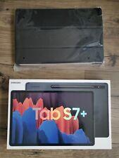 New sealed Samsung Galaxy Tab S7 Plus 128GB, Wi-Fi, 12.4 Mystic Black With S Pen