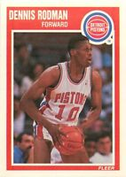 1989-90 FLEER NBA BASKETBALL CARD PICK SINGLE CARD YOUR CHOICE