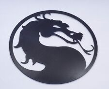 3D mortal combat PC case accessory wall 3mm sticker decal badge plastic solid