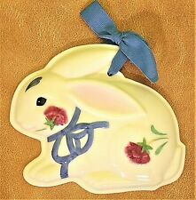 """Lenox """"Poppies on Blue"""" Bunny Cookie Press From Barnyard Collection Sku #6105308"""