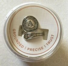 New Alex and Ani # 4 Numerology Spoon Ring - .925 Sterling Silver