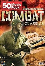 Combat Classics - 50 Movie Pack (DVD, 2008, 12-Disc Set) - NEW!!