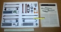 Tug Boat & Barges JFS Schreiber Paper Model Cut-Out Kit 1960s Vintage   (286)