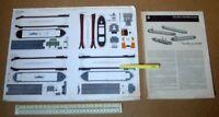 Tug Boat & Barges JFS Schreiber Paper Model Cut-Out Kit 1960s Vintage   (286)