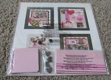 "NIP - Creative Memories Display Accents ""With Love"" Valentines Scrapbooking Kit"