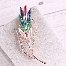 Flower Brooch Pin Headband Ribbon Black Floral Feather Wedding PK D2O9 5x