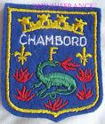 BG6743 - PATCH ECUSSON TISSU BLASON DE CHAMBORD