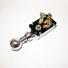 Custom, Hot Rod KEYLESS Ignition Dashboard Switch- Shoebox Style Knob