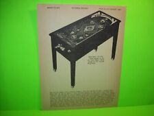 Pinball Machine AD Diamond Ball Keeney & Sons Marketplace Magazine Game 1980