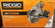RIDGID 18- Volt OCTANE Cordless Brushless 7-1/4 in. Circular Saw (Tool Only)